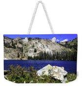 Baker Lake, Idaho Weekender Tote Bag
