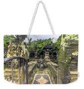 Bali Temple Weekender Tote Bag