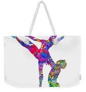 Ballet Dancer-colorful Weekender Tote Bag
