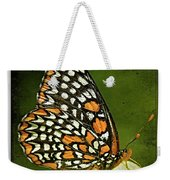 Baltimore Checkerspot Weekender Tote Bag