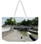 Bancroft Basin - Canal Lock Weekender Tote Bag