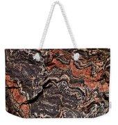 Banded Gneiss Rock Weekender Tote Bag