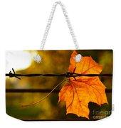 Barbed Autumn Weekender Tote Bag