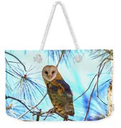 Barn Owl Beauty Weekender Tote Bag