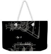 Basketball Practice Device Patent 1960 Part 2 Weekender Tote Bag