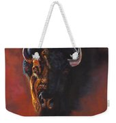 Basking In The Evening Glow Weekender Tote Bag by Frances Marino