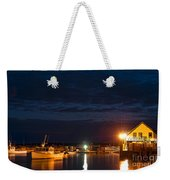 Bass Harbor At Night Weekender Tote Bag