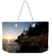 Bass Harbor Head Lighthouse Acadia National Park Weekender Tote Bag