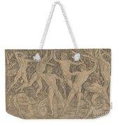 Battle Of The Nudes Weekender Tote Bag