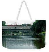 Bavarian Covered Bridge Weekender Tote Bag