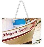 Bayou Queen Weekender Tote Bag