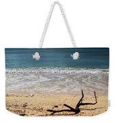Beach At Grand Turk Weekender Tote Bag