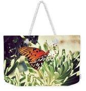 Beach Butterfly Weekender Tote Bag