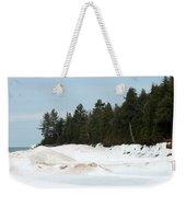 Beach Of Ice Weekender Tote Bag