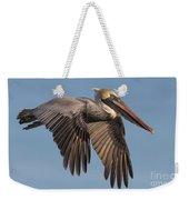 Beautiful Brown Pelican Weekender Tote Bag
