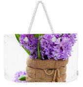 Beautiful Hyacinths Weekender Tote Bag