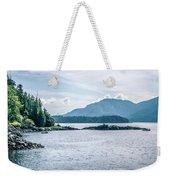 Beautiful Landscape In Alaska Mountains  Weekender Tote Bag