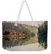 Beautiful Landscape Near Lake Lure North Carolina Weekender Tote Bag