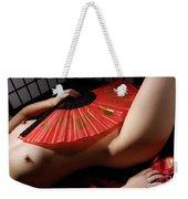 Beautiful Naked Woman Weekender Tote Bag