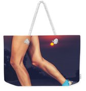 Beautiful Sportive Womens Legs Weekender Tote Bag
