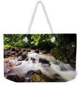 Beautiful Stream In Western Ghats Weekender Tote Bag
