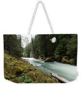 Beautiful White Water Weekender Tote Bag