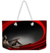Beautiful Woman In A Whirl Of Power Weekender Tote Bag
