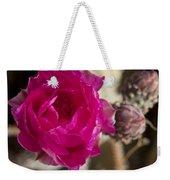 Beavertail Cactus Blossom 2 Weekender Tote Bag