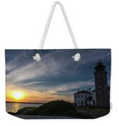 Beavertail Lighthouse Weekender Tote Bag