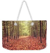 Before The Last Leaf Falls Weekender Tote Bag