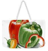 Bell Peppers Jalapeno Weekender Tote Bag
