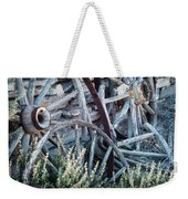 Belmont Broken Wagon Wheels 1649 Weekender Tote Bag