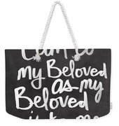 Beloved Weekender Tote Bag