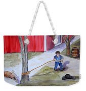 Better The Tree Than Me Weekender Tote Bag