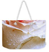 Bicolor Rose Weekender Tote Bag