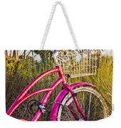 Bicycle At The Beach II Weekender Tote Bag