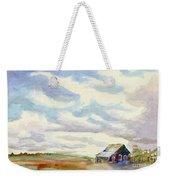 Big Alberta Sky Weekender Tote Bag