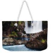 Big Island Waterfall Weekender Tote Bag