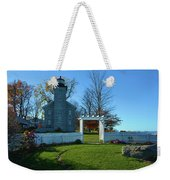 Big Sodus Lighthouse Weekender Tote Bag