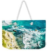Big Sur California Coastline On Pacific Ocean Weekender Tote Bag