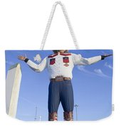 Big Tex In Dallas Texas Weekender Tote Bag