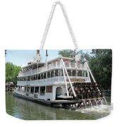 Big Wheel Boat Weekender Tote Bag