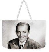 Bing Crosby, Hollywood Legend By John Springfield Weekender Tote Bag