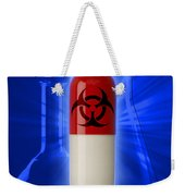 Biohazard Symbol On Capsule Weekender Tote Bag