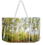 Birch Forest Weekender Tote Bag