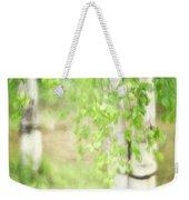 Birch In Spring Weekender Tote Bag