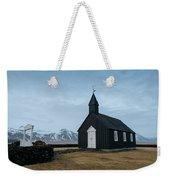 Black Church Of Budir, Iceland Weekender Tote Bag