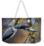 Black-crowned Night Heron  Weekender Tote Bag