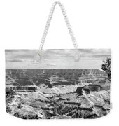 Black Grand Canyon  Weekender Tote Bag