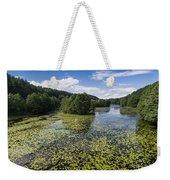 Black River Hancza In Turtul.  Weekender Tote Bag